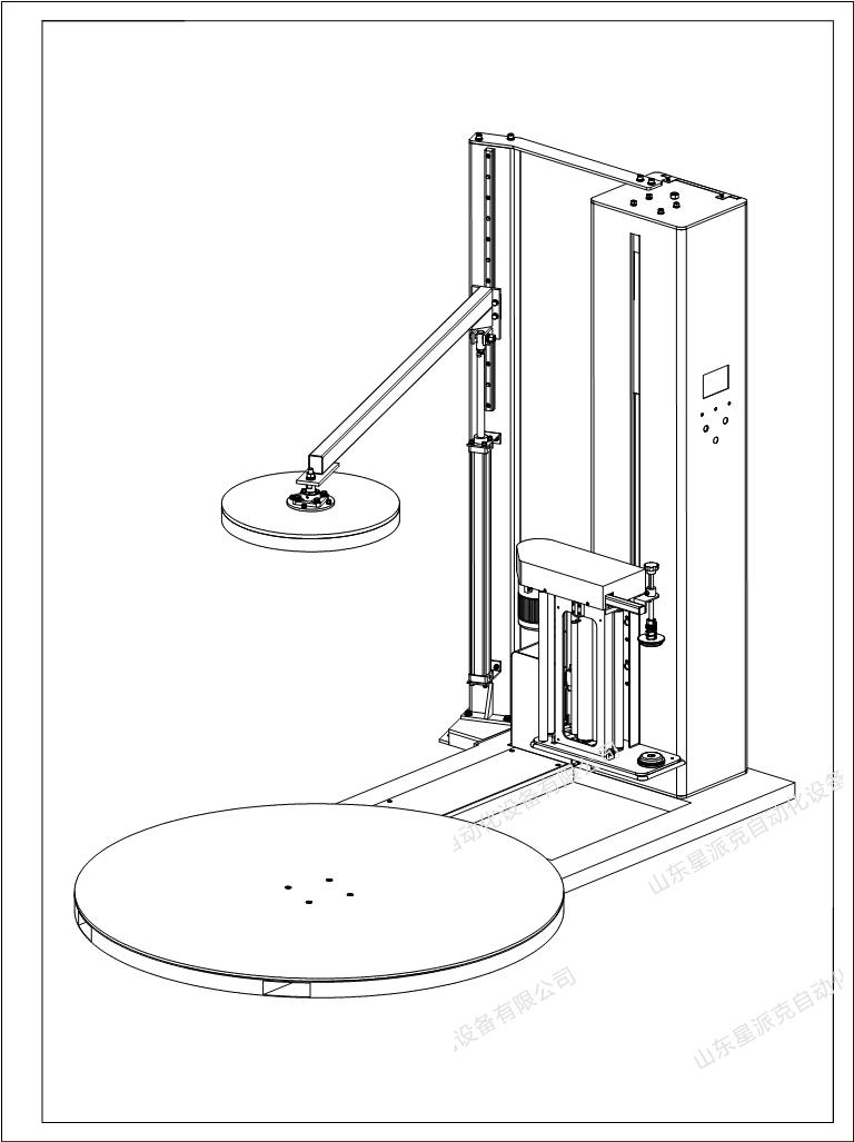 电动独立立柱压顶结构,龙门式压顶结构,液压整形压顶结构.