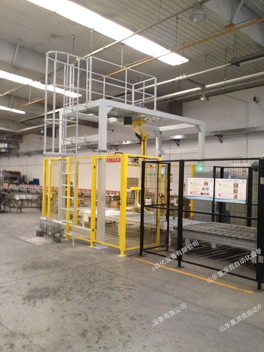 XR400PPS—ART悬臂式缠绕包装机
