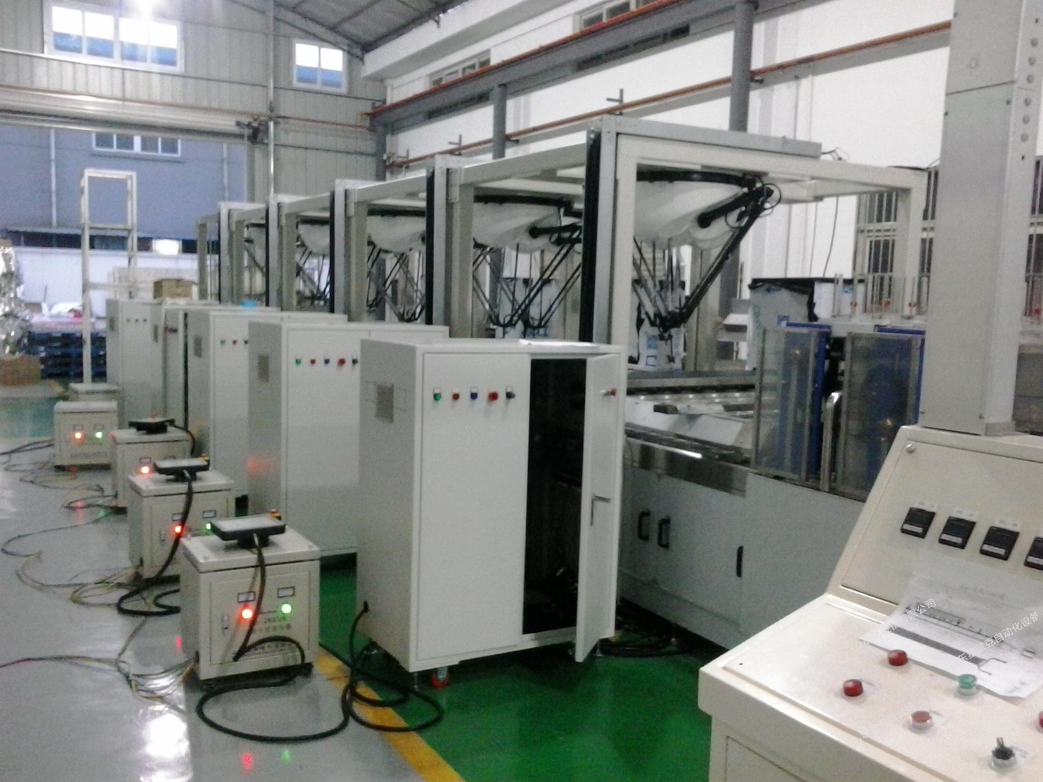 箱类产品并联机械手综合应用系统